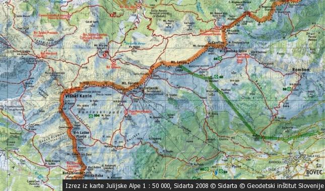 Hudi Vršič - Cima Lunga (2478 m/2461 m)