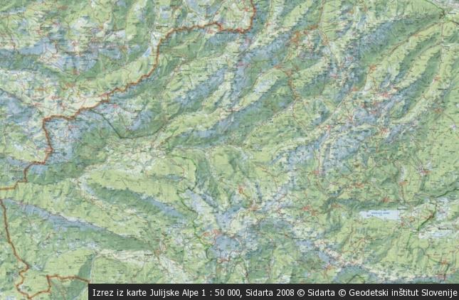 Grebenska prečenja gora na sončni strani Alp