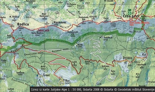 Matajurski vrh 1936 m