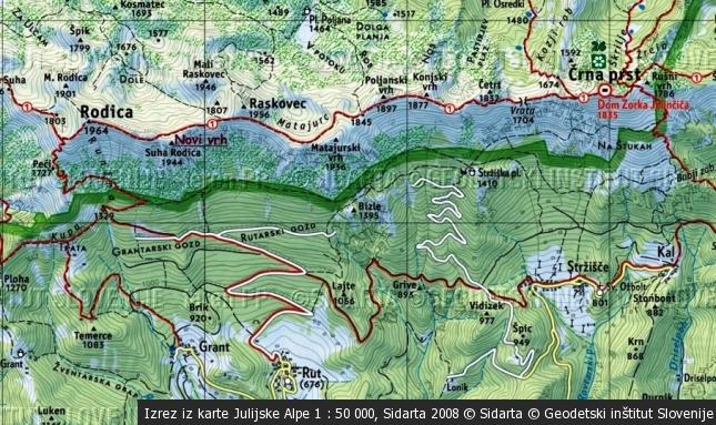 Seznam alpinističnih smučarskih spustov